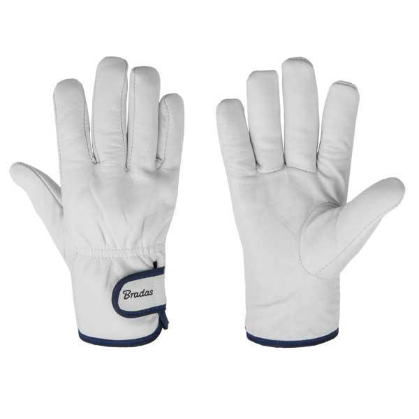 Защитные перчатки из козьей кожи со светлой подкладкой, WHITEBIRD TERMO, RWWBT95 BRADAS