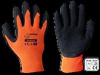 Перчатки защитные POWER латекс, размер 9, RWP9 BRADAS