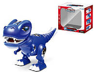 """Музыкальный динозавр """"Тираннозавр"""" (синий) 7Toys TT6017A ( TC115612)"""