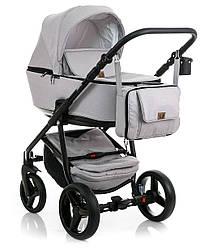 Детская универсальная коляска 2 в 1 Adamex Reggio Y104 (Адамекс, Польша)