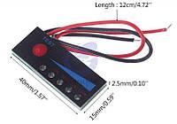 Индикатор уровня заряда батарей, аккумуляторов 18650,  на 3s 12.6 V