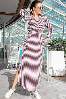 Розовое весеннее платье Шимер