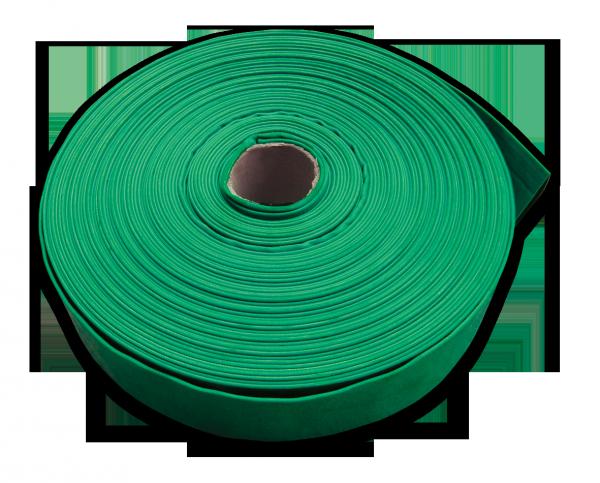 Шланг AGRO-FLAT W.P.3, 4, 100 м, GREEN, WAF3B400100 BRADAS