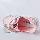 Текстильные кроссовки от Том М девочкам, 34, 35, 37, 38 Весенние, легкие, розовые пудровые Томми, фото 5