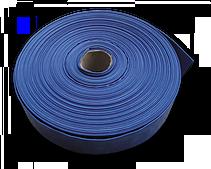 Шланг AGRO-FLAT W.P.2, 4, 100 м, BLUE, WAF2B400100