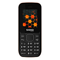 Мобільний телефон Sigma X-style 17 UPDATE Black Orange