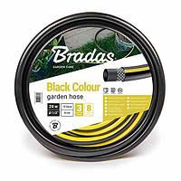 Шланг для полива BLACK COLOUR 1 25м, WBC125 BRADAS
