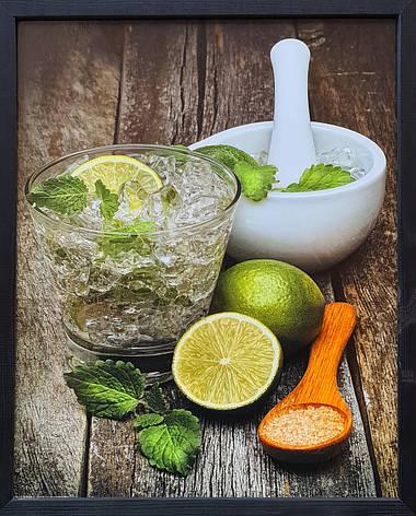 """Фотокартина в деревянной раме """"Lime 1"""", 40х50 см, фото 2"""