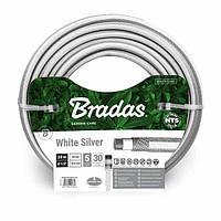 Шланг для полива NTS WHITE SILVER 1/2 - 30м, WWS1/230 BRADAS