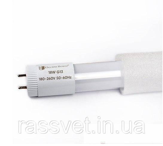 ElectroHouse LED лампа линейная T8 18W 6500K 1620Lm 120 см