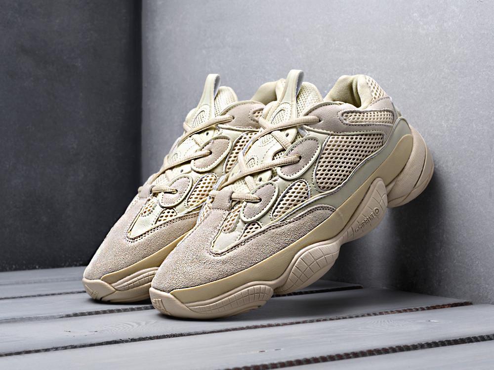Мужские кроссовки Adidas Yeezy 500 Beige