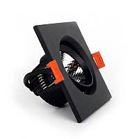 ElectroHouse LED светильник потолочный чёрный 5W угол поворота 45° 4100К