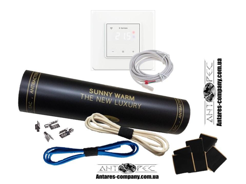 Готовый комплект с сенсорным регулятором Тerneo S (1,5м²) SUNNY WARM ( Премиум)