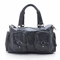 Дорожная сумка 0869 черная, фото 1