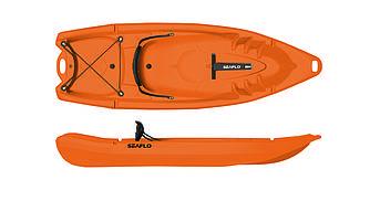 Каяк 2-местный SF-2002 Orange sit-on-top знаменитого бренда SeaFlo