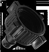 Адаптер на кран РВ 1. Соединитель для трубки 13мм / 1шт, DSA-3713 BRADAS