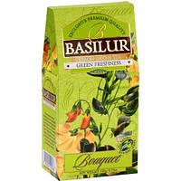 Чай зеленый Basilur Букет Зелёная свежесть 100 грамм