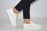 Кроссовки-кеды женские Marcco 20492-1 белые кожа, фото 1
