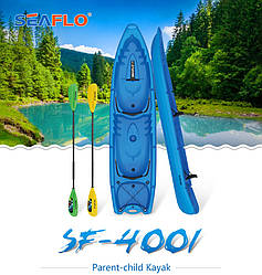 Каяк 4-местный SF-4001 Blue sit-on-top знаменитого бренда SeaFlo