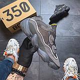 Кроссовки мужские  Adidas Yeezy Boost 500 Utility Black, фото 4