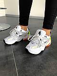 Кроссовки мужские Nike M2K Tekno Pure Platinum Black-Sail White, фото 3