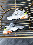Кроссовки мужские Nike M2K Tekno Pure Platinum Black-Sail White, фото 5