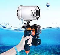 Плавающий поплавок ,рукоятка с пусковым затвором для экшн камер (GoPro, SJCam, Xiaomi Yi, смартфоны)