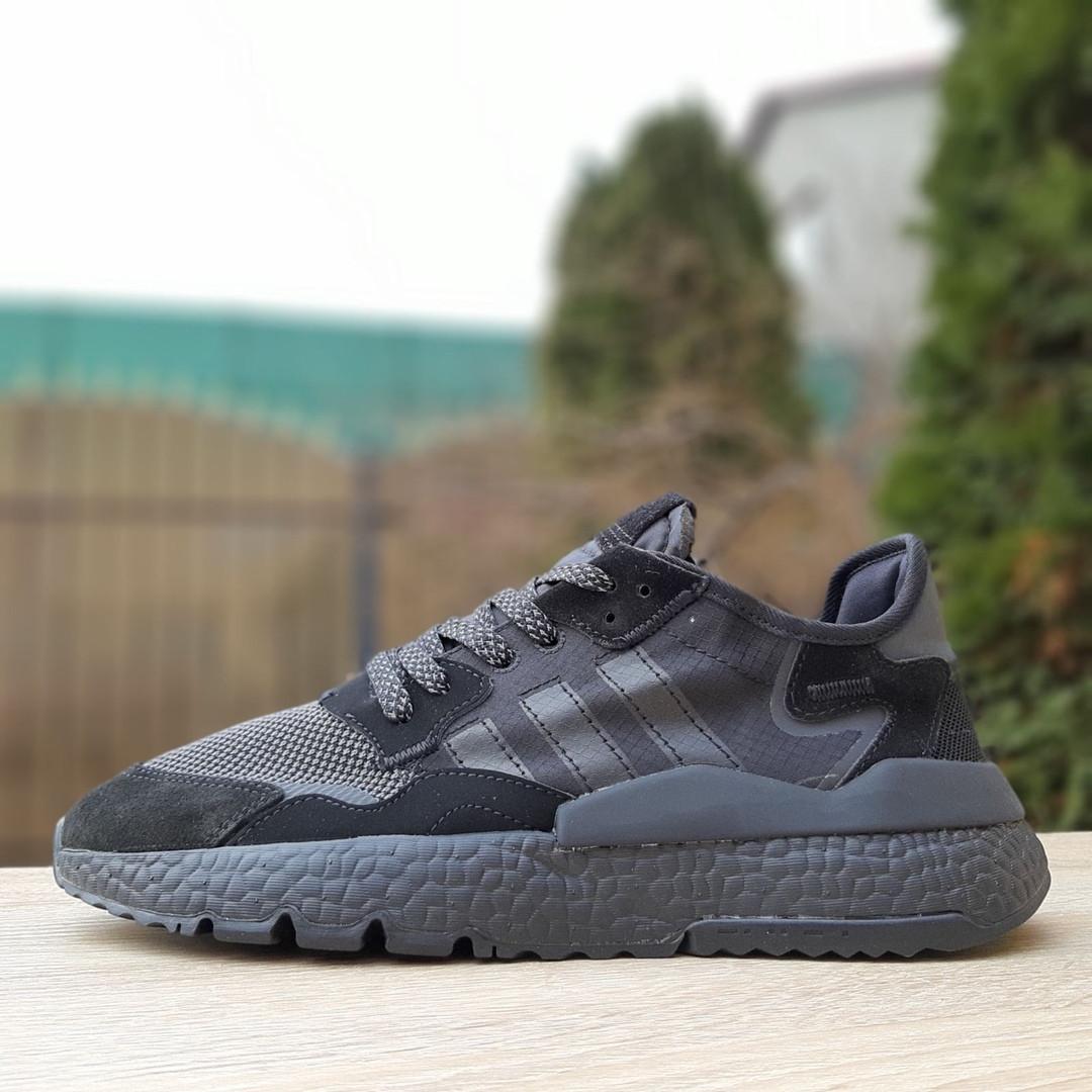 Кроссовки мужские Adidas Nite Jogger чёрные