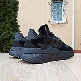 Кроссовки мужские Adidas Nite Jogger чёрные, фото 6