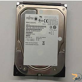 Жорсткий диск Fujitsu , Enterprise 300GB, 15000rpm, 16MB, P/N: MBA3300RC, роз'єм 3.5, SAS