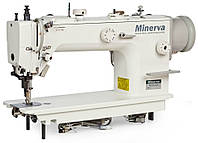 """Minerva M0201JD Промышленная швейная машина с шагающей лапкой и """"перетопом"""""""