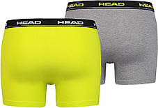 Труси-шорти HEAD Basic Boxer 2P 841001001-007 M 2 шт (8718824641386), фото 2