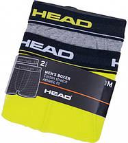 Труси-шорти HEAD Basic Boxer 2P 841001001-007 M 2 шт (8718824641386), фото 3