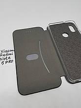 Чехол книжка Xiaomi Redmi Note 5 G-Case Ranger черная