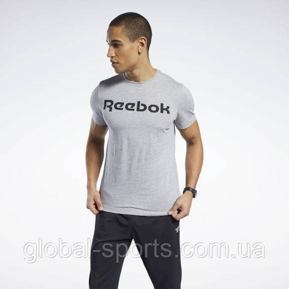 Мужская футболка Reebok GS Reebok Linear Read Tee (Артикул:FP9162)