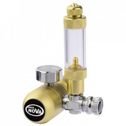 Редуктор CO2 Aqua Nova NCO2-REG с счетчиком пузырьков, фото 2