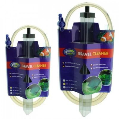 Сифон для чистки грунта Aqua Nova, 25см