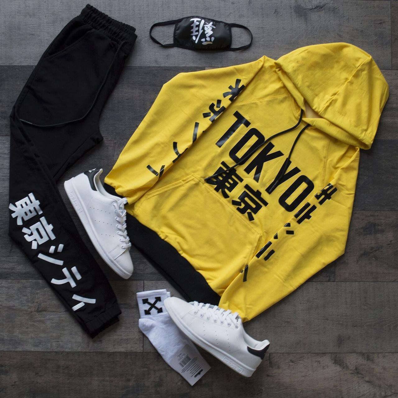 Комплект, спортивный костюм(Худи +Штаны + Маска+Носки)