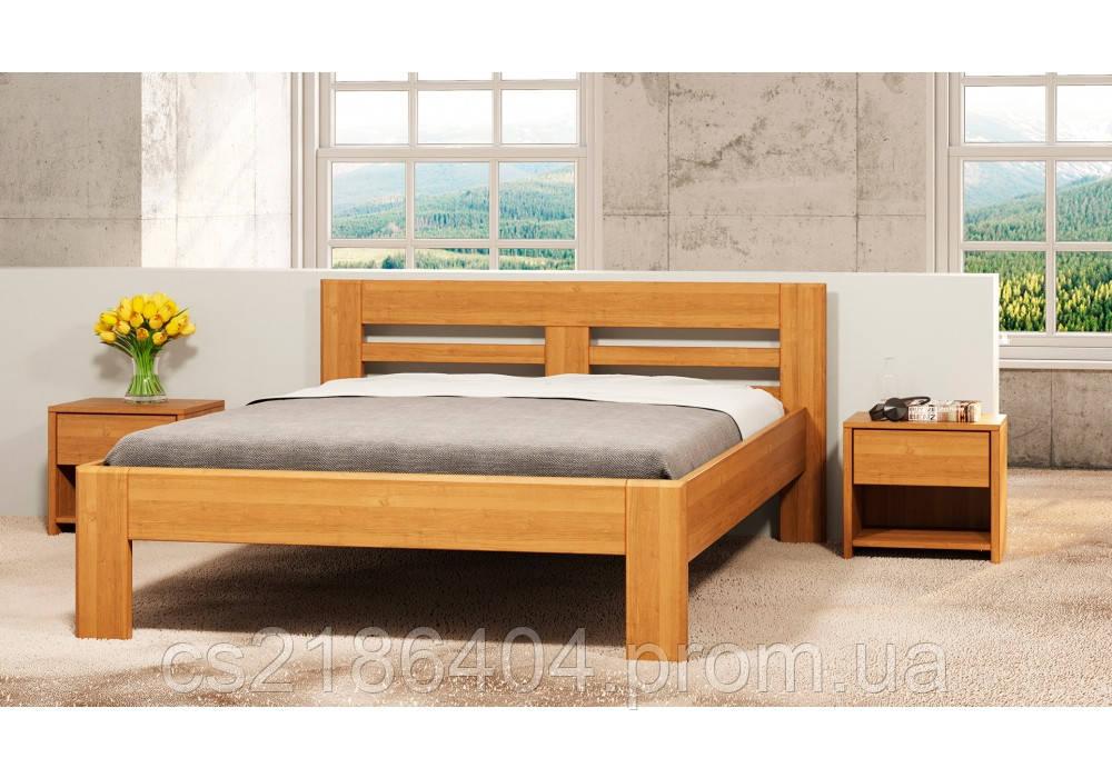 Дерев*не двоспальне ліжко 160х200 Ноліна