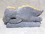 Плед мягкая игрушка 3 в 1  Динозаврик серый (07), фото 2
