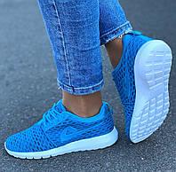 Женские кроссовки голубые мягенькие  36 37 38 39 41