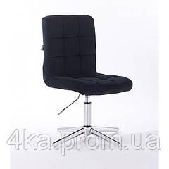Перукарське, косметичне крісло HROOVE FORM HR7009 чорний