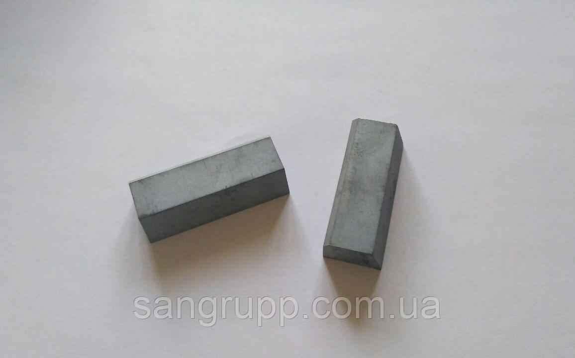 Пластина напайная 01251 ВК8, Т5К10, Т15К6