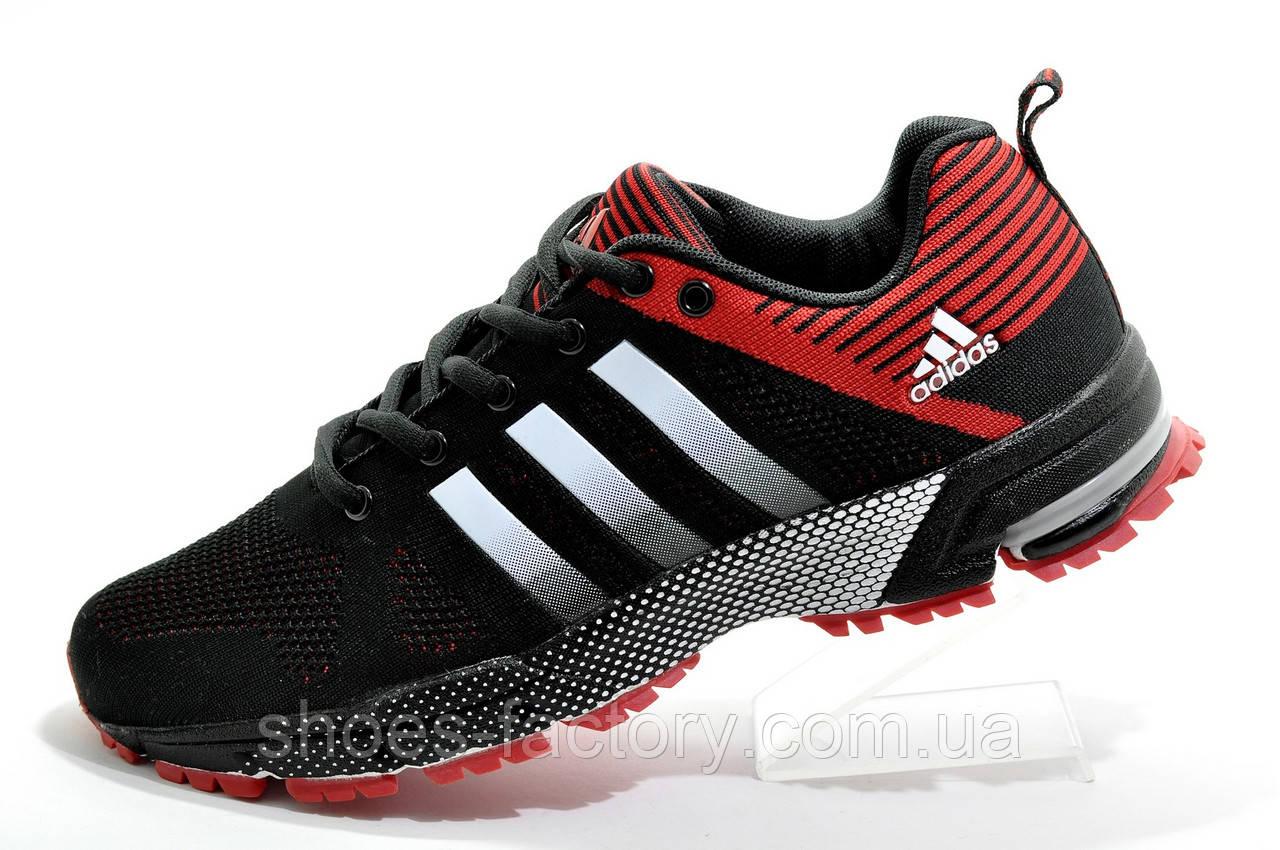 Мужские кроссовки в стиле Adidas Marathon TR26, Black\Red