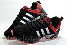 Мужские кроссовки в стиле Adidas Marathon TR26, Black\Red, фото 3