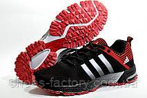 Мужские кроссовки в стиле Adidas Marathon TR26, Black\Red, фото 2