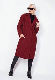 Молодежное демисезонное пальто из овчины 548 (42–46р) в расцветках