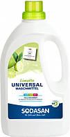 Органическое жидкое средство для стирки Sodasan Universal Bright&White 1.5 л (4019886015615)