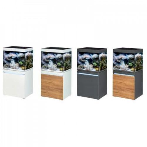 Аквариумный морской комплект EHEIM incpiria marine LED 230 с тумбой, alpin/nature (70x65x60, 230л)