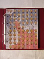 Комплект листов с разделителями для разменных монет СССР 1961-1992гг.